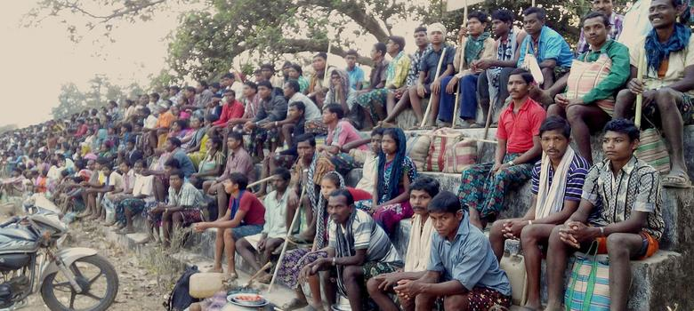 An adivasi protest in Chhattisgarh is gaining strength – but not getting much attention