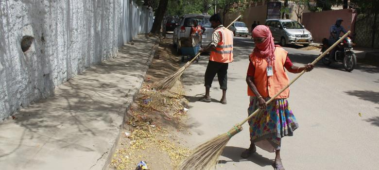Hyderabad sweepers can take the heat but not the