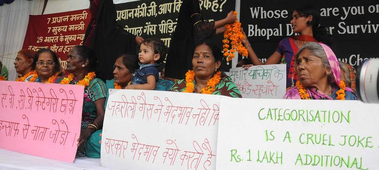 Central government agrees to raise compensation for Bhopal gas tragedy survivors