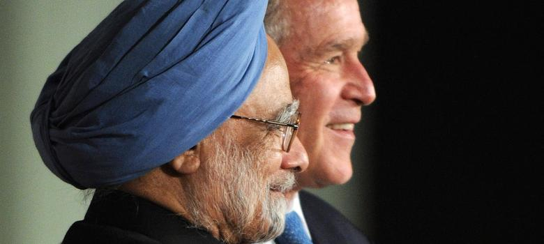 Modi takes credit for nuclear deal with US, ignoring crucial role played by Manmohan