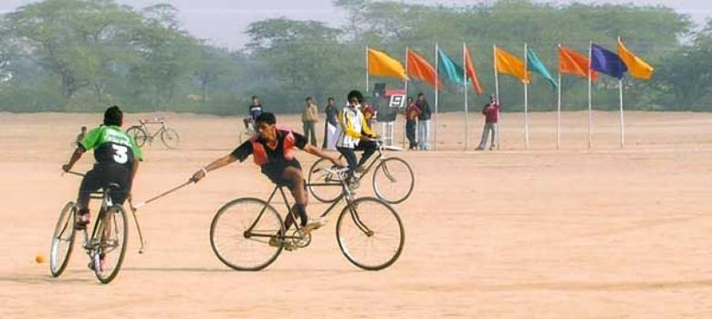 Shootingball, cycle polo and other obscure sports funded by the Indian government
