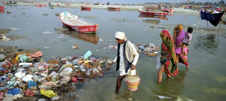 Horrifying fact: Almost all India's water is contaminated by sewage
