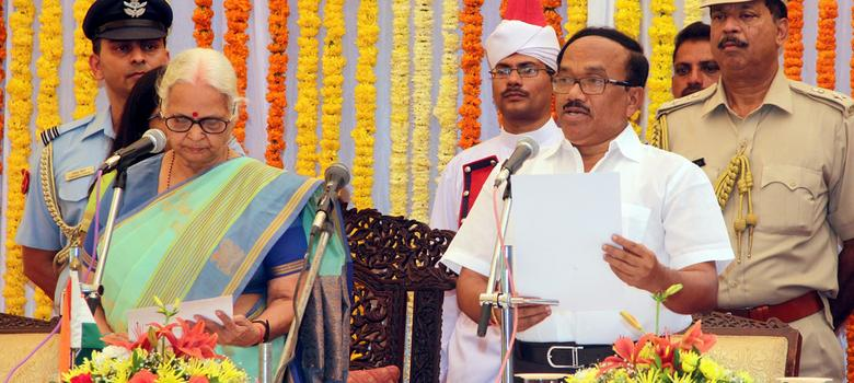 'Sir' Laxmikant Parsekar from Russian haven is Goa's new chief minister