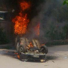 Workers riot at two work-sites, in Himachal Pradesh and Haryana