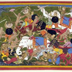 Was the Ramayana actually set in and around today's Afghanistan?