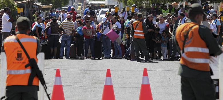 A humanitarian and diplomatic crisis is unfolding on the Colombia-Venezuela border