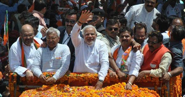 As Modi files papers in Varanasi, an insidious pamphlet tries to polarise voters