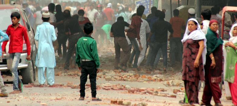 In East Delhi, women describe how Diwali riot escalated into sexual threat
