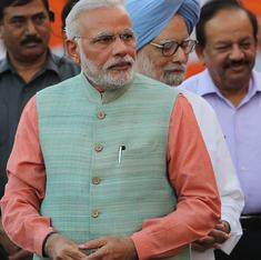 Modi and Manmohan: after one year, spot the differences