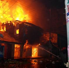 An inferno in the Chandni Chowk of Guwahati incinerates decades of cultural history