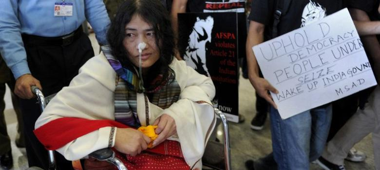 Feeding Irom Sharmila: A protest that goes on, day after day