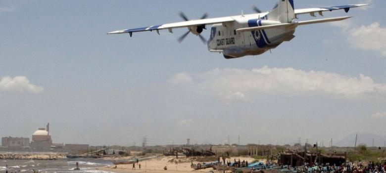 Thirty Five Days After A Coast Guard Aircraft On Surveillance Sortie Diseared Off The Chennai With Three Crew Search Operation Has Been