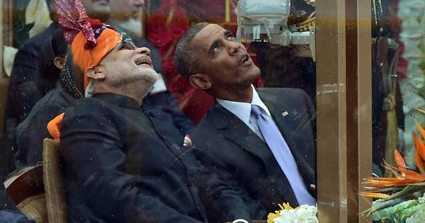 Twitter tries to decode the significance of reports of Modi's plane being parked next to Obama's