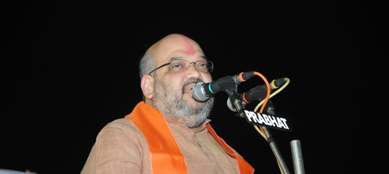FIR filed against Amit Shah for incendiary speech in riot area