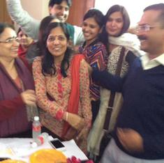 Hold your horses: Kejriwal hugging his wife will not start a love revolution