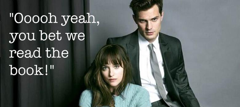 Fifty Shades Of Grey: Read the books? Skip the movie, maybe