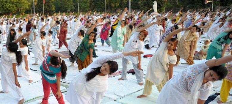 Modi's yoga celebration is a mix of cultural nationalism, commercialisation and subtle coercion
