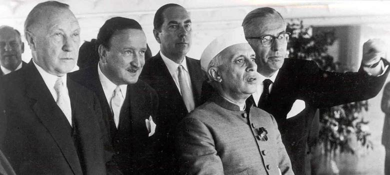 As a poet who caricatured 'historical figures' may get jail, a film recalls Nehru's thick skin to satire