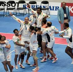 Second successive golden double on the kabaddi mat for India's men and women's teams
