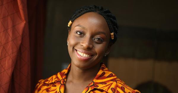 Chimamanda Ngozi Adichie speaks as well as she writes, maybe better