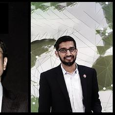 Three India-born CEOs now lead companies with combined revenue exceeding the GDP of most countries