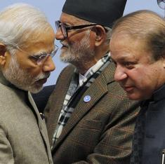 'भारत के साथ शांति प्रक्रिया स्थगित है'
