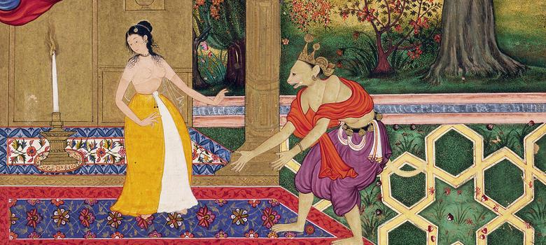 Eight exquisite Mughal miniatures of the Ramayana commissioned by emperor Akbar