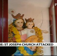 Mangalore church vandalism is latest in spate of attacks on minority shrines in region