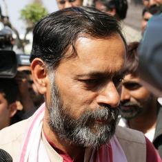 नजीब जंग दिल्ली में भाजपा का हथियार बन गए हैं : योगेंद्र यादव