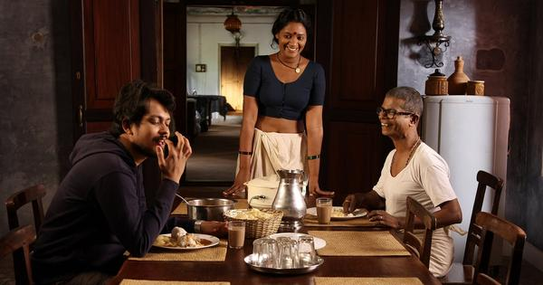 Blood and water thicken in Malayalam movie 'Munroe Island'