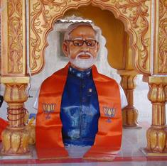 Why the old news about a temple for Narendra Modi still makes news
