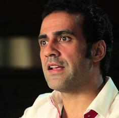 Why has Aatish Taseer written a children's story about his Green Card?