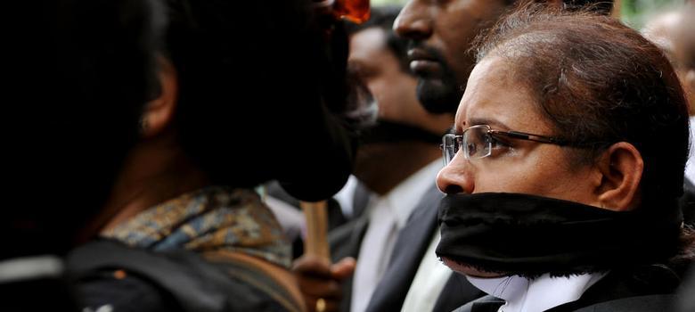 हड़ताल पर रोक की सिफारिश के विरोध में वकीलों ने आधे दिन की हड़ताल की घोषणा की