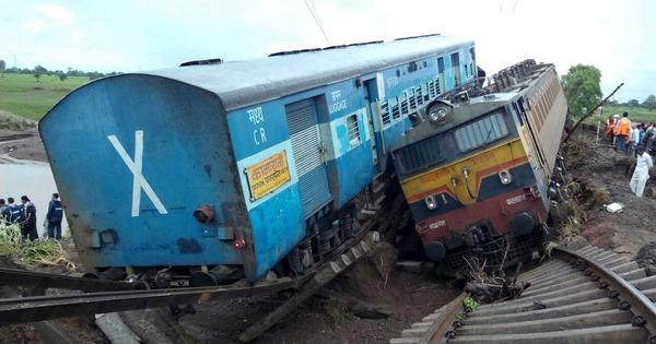 Madhya Pradesh derailment: It may not seem like it but railway accidents are getting rarer in India