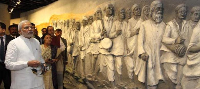A new Gandhi museum in Gujarat does a good job of showcasing Modi