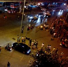 Situation is peaceful: Mumbai residents baffled by late night text message from police