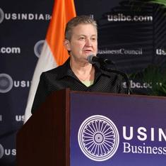 US envoy Nancy Powell quits ahead of elections