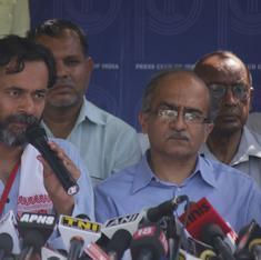 Yogendra Yadav and Prashant Bhushan's Swaraj Abhiyan opens 100 offices in Delhi