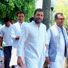 Congress aims to spoil Modi government's one-year party