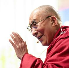 As Tibetans protest against Chinese president Xi, Dalai Lama praises him