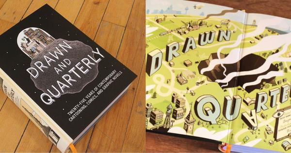 Twenty-five years of fiction in comics, in one fat, juicy book