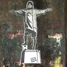 Lennon in a lungi, Marx meditating like a saint: Graffiti in Kochi asks 'Guess Who'