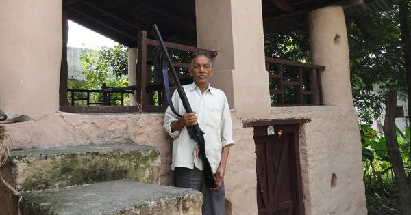 On the edges of Corbett Park, villagers form committee to preserve Carpet Sahib's old gun