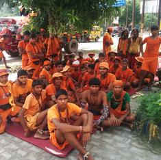 What lies behind the rising tide of saffron-clad pilgrims clogging roads in North India