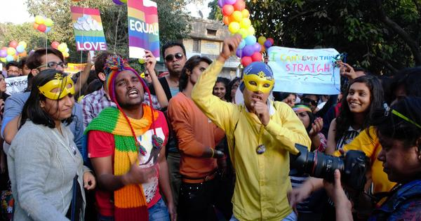 Photos: Nearly one thousand people march for LGBTQ rights in New Delhi