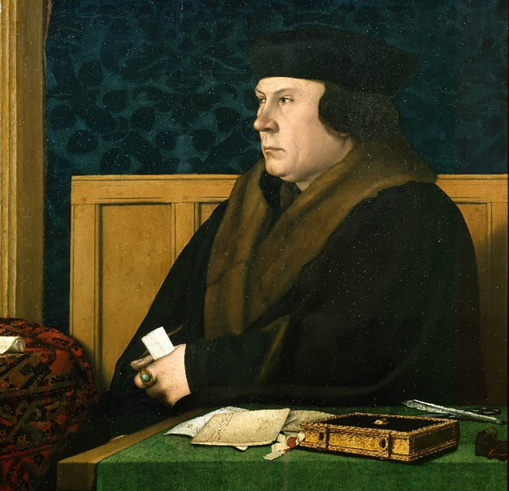 Brought to life: Thomas Cromwell. Hans Holbein via the Frick Collection.