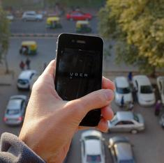 Unlike in the West, Uber does not conduct background checks on drivers in India