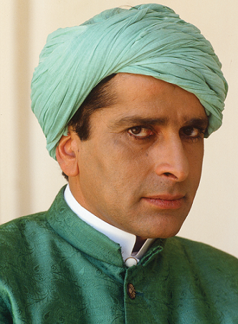 Shashi Kapoor in 'Heat and Dust'. Courtesy Merchant-Ivory Productions.