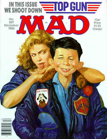 MAD Magazine, Issue 267, published in December 1986. Courtesy DC Comics.