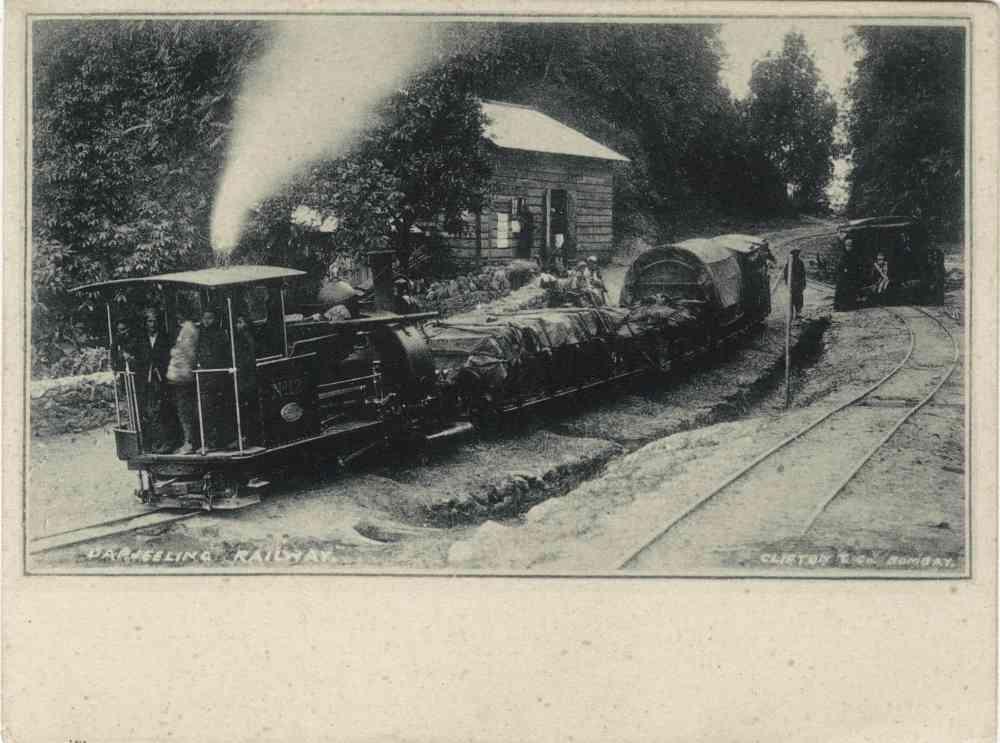 Darjeeling Railway. Printer/Publisher: Clifton & Co, Bombay. Image courtesy: Sangeeta and Ratnesh Mathur.